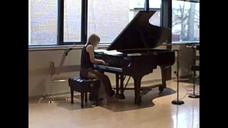 John Cage - Primitive (performed by Kelly Moran)