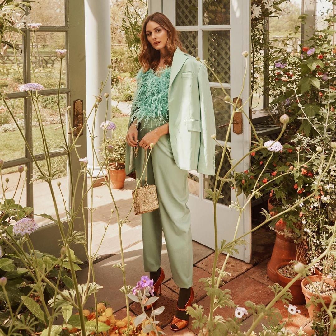 Мята - модный цвет сезона осень-зима 2019-2020