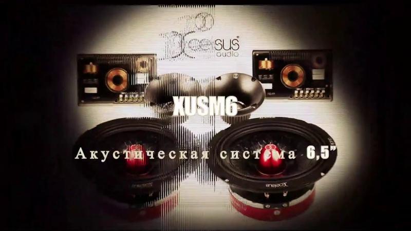 Промо XUSM6 компонентная акустическая система от Xcelsus Audio