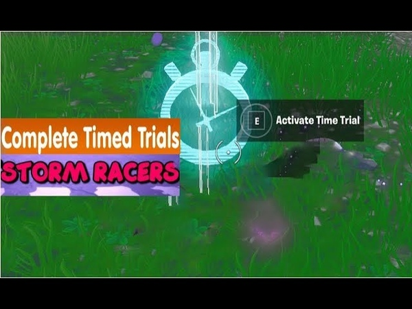 Complete Timed Trial North Of Lucky Landing Or East Of Snobby Shores - Season X Week 8 Storm Racers