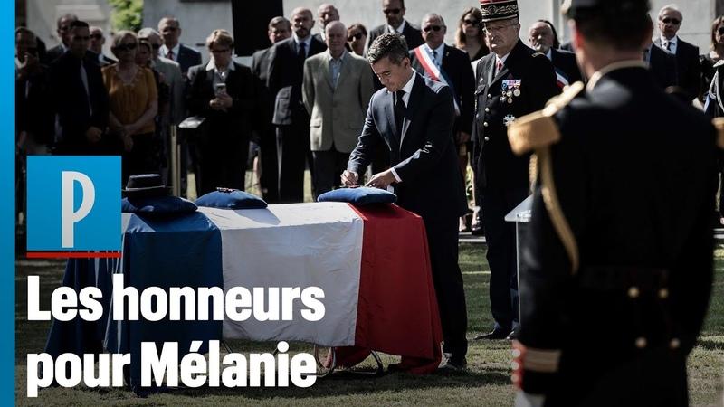 Gendarme tuée par un chauffard Darmanin remet la Légion d'honneur à titre posthume