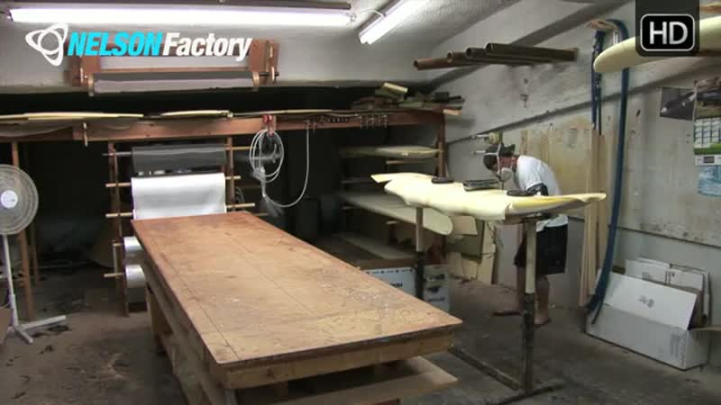 Nelson Factory Windsurfing Custom Boards No. 4 Part 2