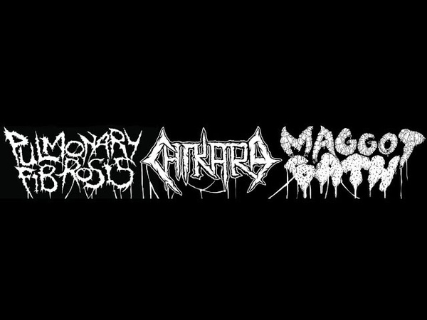 Pulmonary Fibrosis Chikara Maggot Bath 3 Way Split 2018 Full Album HQ Goregrind Crust Sludgecore