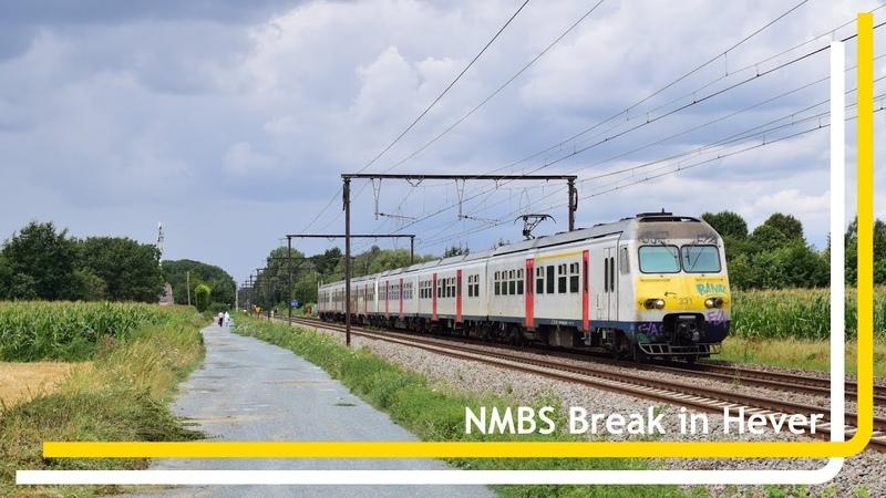 NMBS Break 331 en 367 komen door Hever