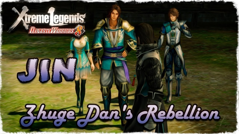 Story Mode ◄ Dynasty Warriors 8 ► Jin 53 Zhuge Dan's Rebellion