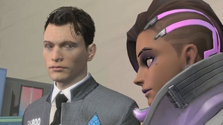 Android Language (Detroit: Become Human x Overwatch SFM)