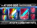ЕА РАЗДАЮТ TOTS МАСТЕРОВ 94 47 МИЛЛИОНОВ МОНЕТ ИТОГИ TOTS ФИФА 19 МОБАЙЛ