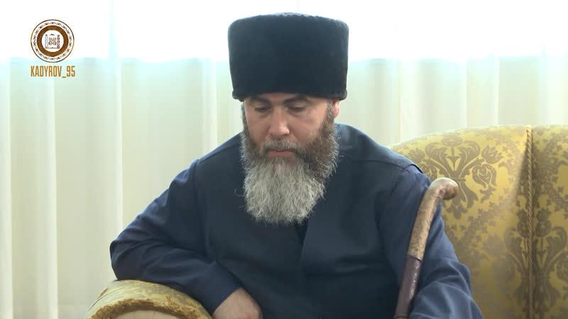 Встретился с министром по делам религии САР Ас Сайид Мухаммадом Абдульсаттаром