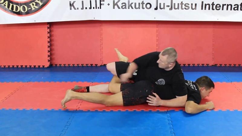 Джиу-джитсу (Ju-Jutsu). Часть 3. Болевые и удушающие из положения бэк-маунт.