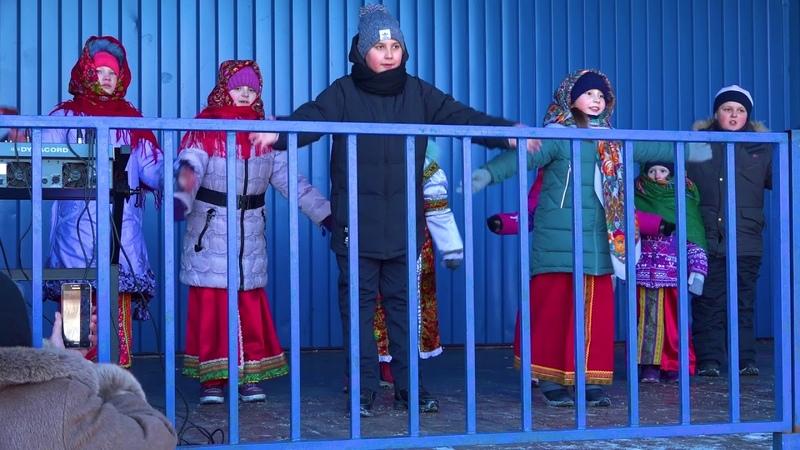 ансамбль Серпуховское подворье на фестивале Чаепитие в парке чудес