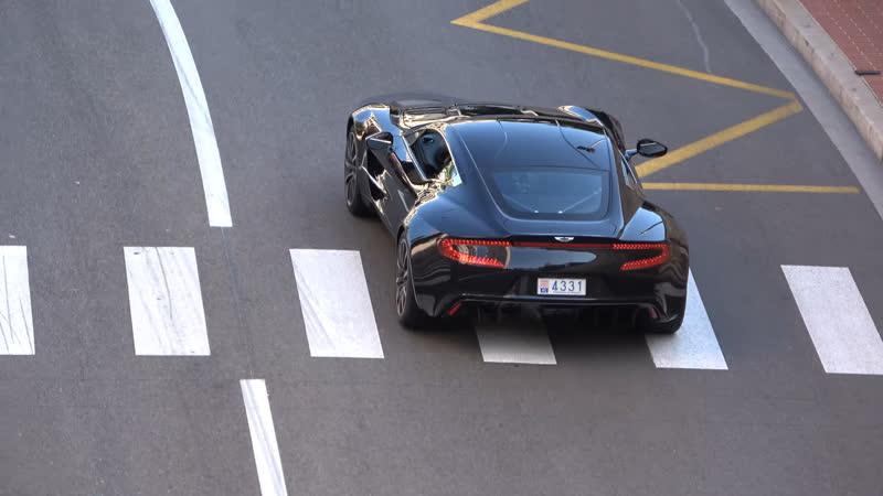 Monaco Supercars Spotting 19 ( One77, Carrera GT, Chiron, Vanquish Zagato Volante..)