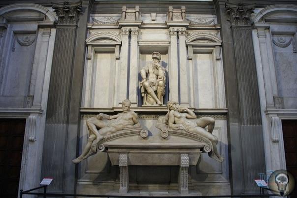 Тайные секреты Микеланджело под часовней Медичи.
