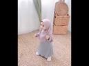 Cute Little Girl Wearing Hijab