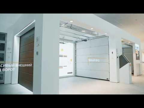Гаражные ворота Hörmann безопасность качество и стильный дизайн