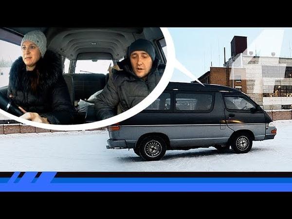 Девушка ездит на механике после 7 лет на АКПП - Toyota TOWN ACE JDM