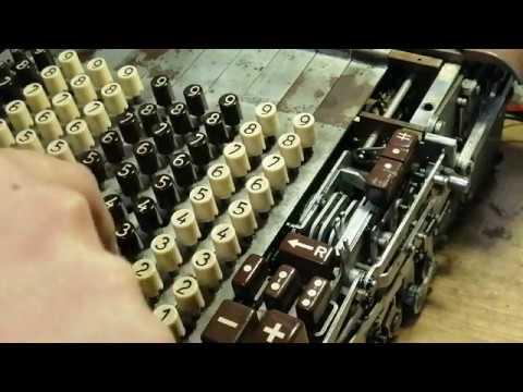 Счётная машина DIEHL - Часть 1
