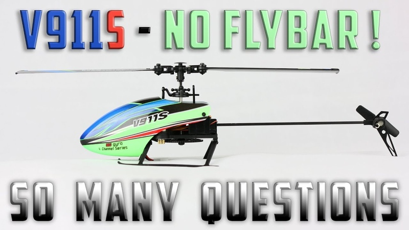V911S Fixed Pitch FBL RTF Heli - Detailed Review Inside and Outside
