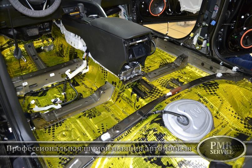 Комплексная шумоизоляция Toyota Camry, изображение №3
