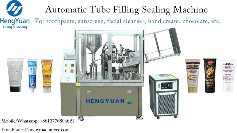 Excellent Performance Tube Filling Sealing Machine for Cream Filler Sealer