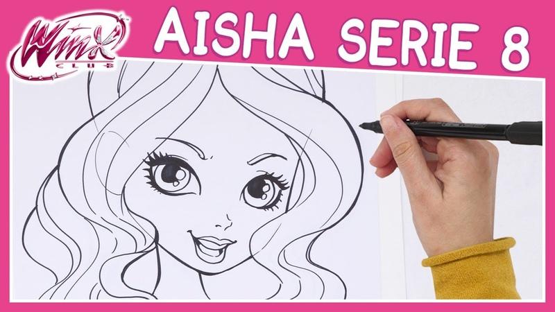 Winx Club Serie 8 Come disegnare Aisha TUTORIAL