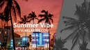 Summer Vibe 80's Vibe Funky type beat w Live Guitar
