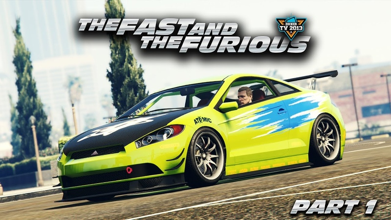 The Fast and the Furious Kompletter Film PART 1 PS4 Cinematic Machinima