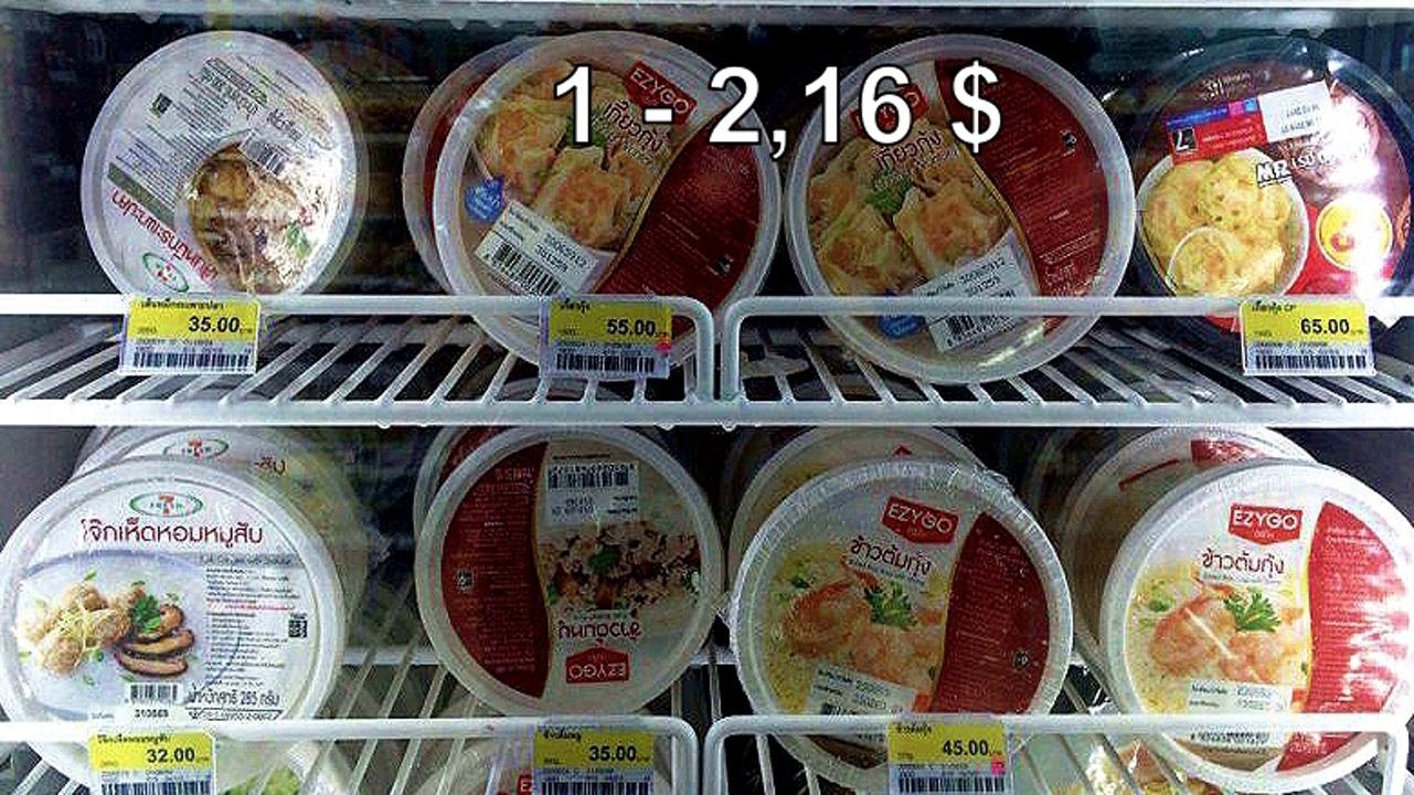 Цены на продукты и еду в Таиланде.  DBzOkTVFH-0