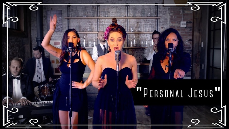 """Personal Jesus"" (Depeche Mode) Cover by Robyn Adele ft Brielle Von Hugel and Virginia Cavaliere"