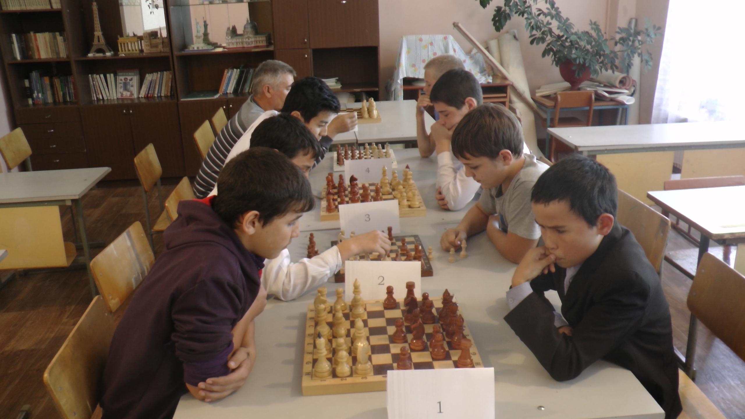Отборочный шахматный турнир