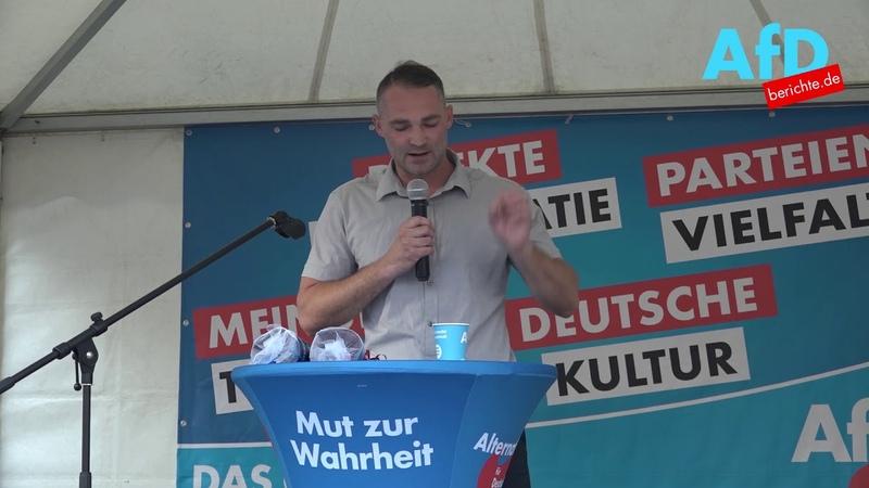 Schickt Sebastian Wippel MdL der AfD Kretschmer von der CDU am 1.September zum Arbeitsamt?