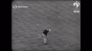 USA: AMAZING GOLF WIN (1955)