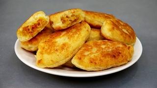 Нашла ЛУЧШЕЕ тесто для пирожков с капустой! Без дрожжей! Пирожки в духовке, на пару и жареные!