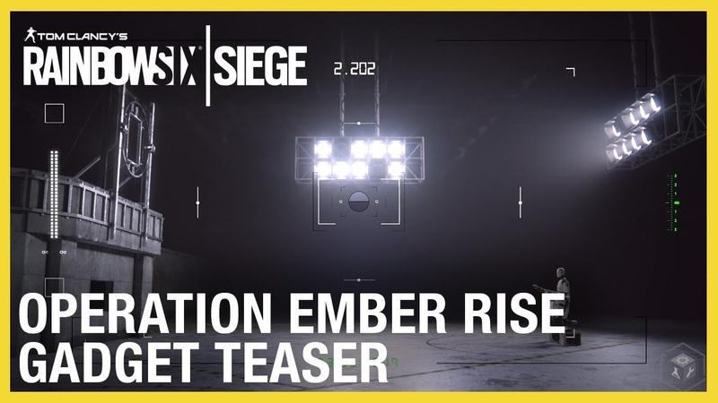 Rainbow Six Siege: Operation Ember Rise New Operator Gadgets Teaser Ubisoft NA