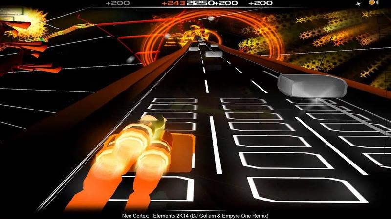 [Audiosurf] Neo Cortex - Elements 2K14 (DJ Gollum Empyre One Remix)