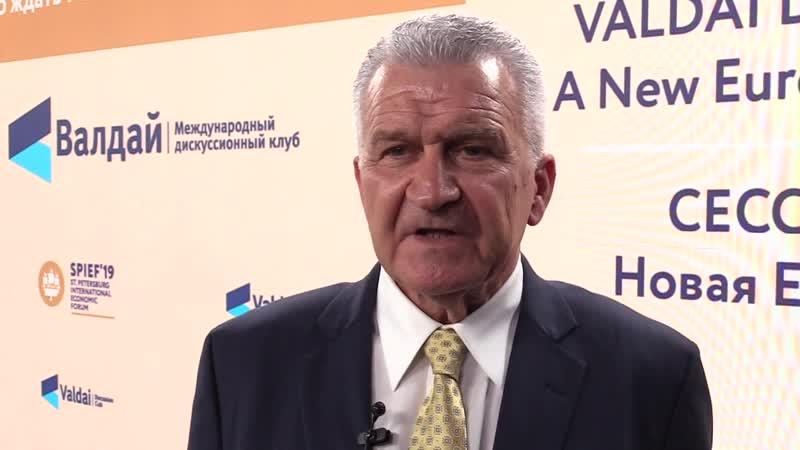 Советник премьер-министра Греции Димитриос Веланис об историческом пути Балкан, России и Европе