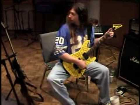 Steve Swanson of Six Feet Under In studio guitar track of Sick in the Head