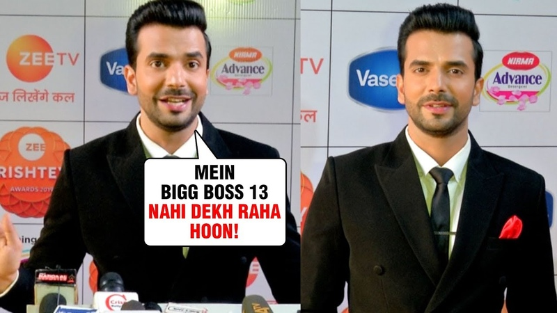 Manit Joura aka Rishabh REACTS On Mahira Sharma In Bigg Boss 13 Zee Rishtey Awards 2019