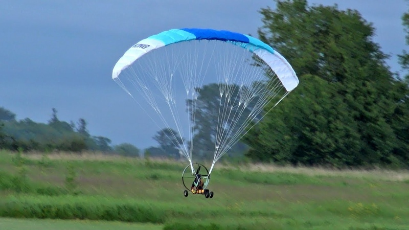 H King Paramotor Maiden Flight Review Hobbyking RC PPG