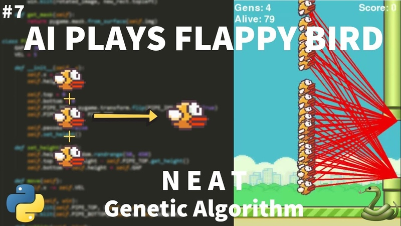 Python Flappy Bird AI Tutorial (with NEAT) - Finishing Touches and Testing