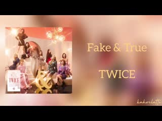 [FSG FOX] TWICE - Fake  True _рус.саб_