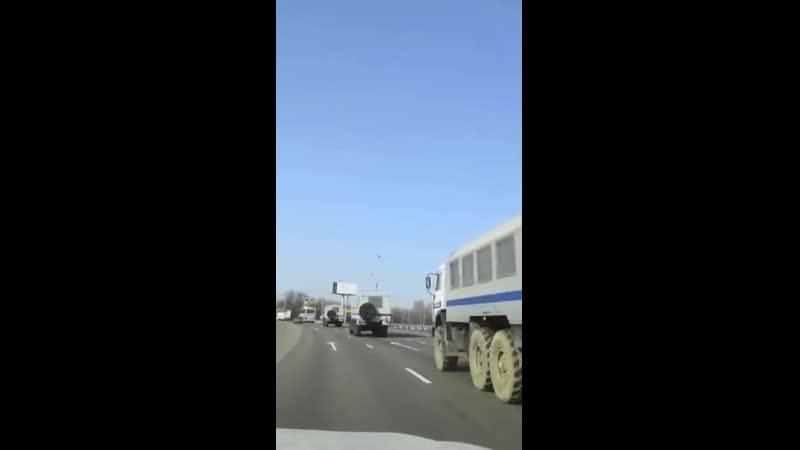 В Москву стягивают гопгвардейцев в огромных колличествах