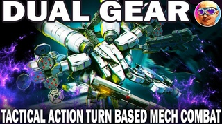 DUAL GEAR \ новая тактическая игра про роботов без доната  \ tactical action turn based mech combat