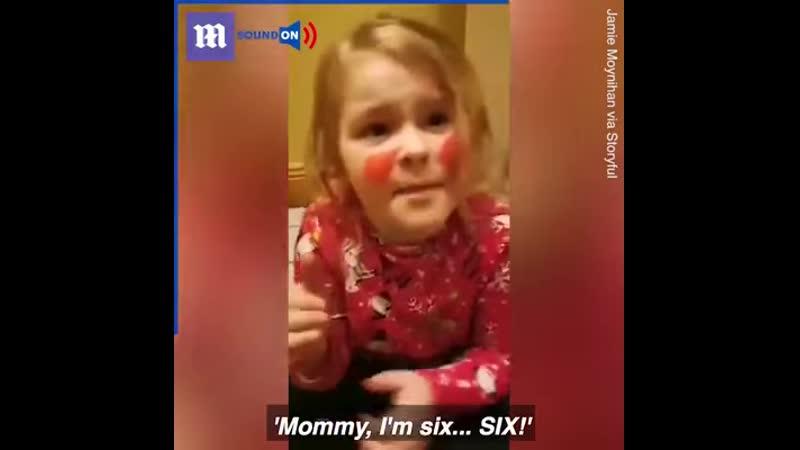 Moomy I am Six SIX 😂 🤣