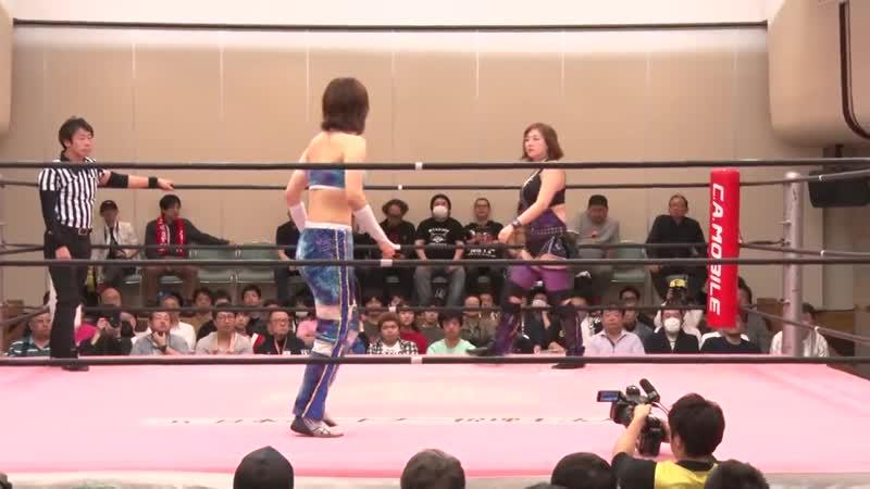 Mahiro Kiryu vs Yuna Manase TJPW Golden Itabashi Date