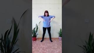 Физкульт привет от руководителя хореографического коллектива МБУК ЗГДК #сидимдома