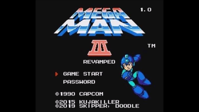 Mega Man 3 Revamped (NES) - Longplay