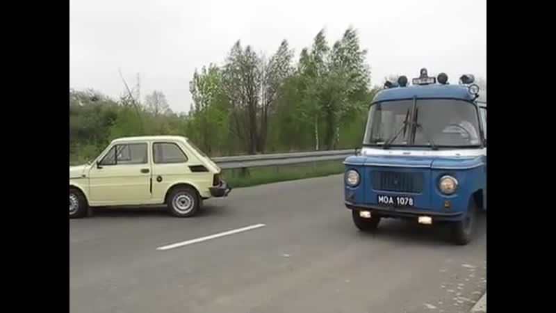 Milicja sanitarka ambulans karetka Звуки советской сирены ПМР