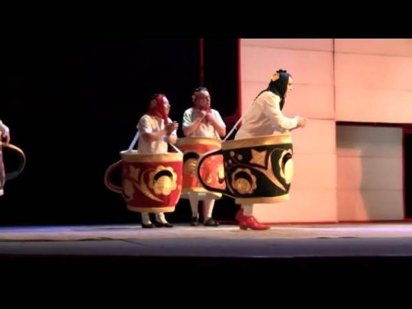 Маски-шоу : Танец чашек и самовара