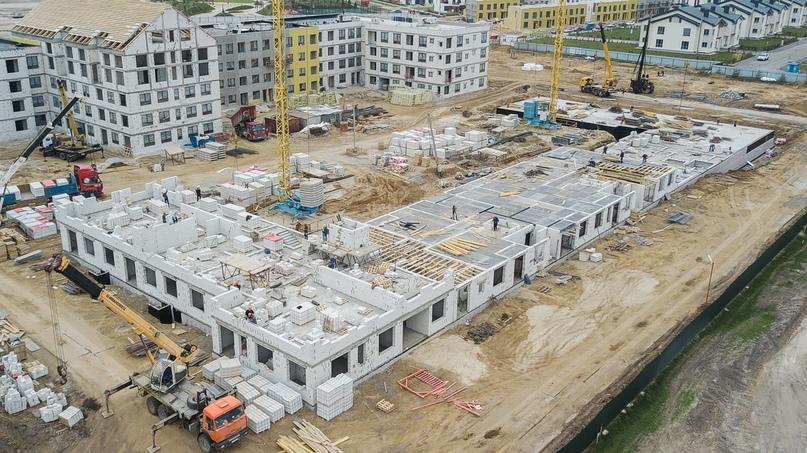 Отчет о ходе строительства квартал «Среда» май 2020, изображение №31