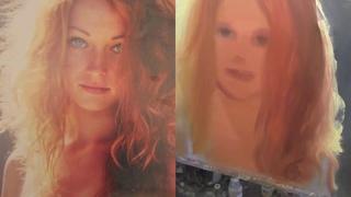 Portrait of a red-haired girl/Портрет рыжей девушки маслом